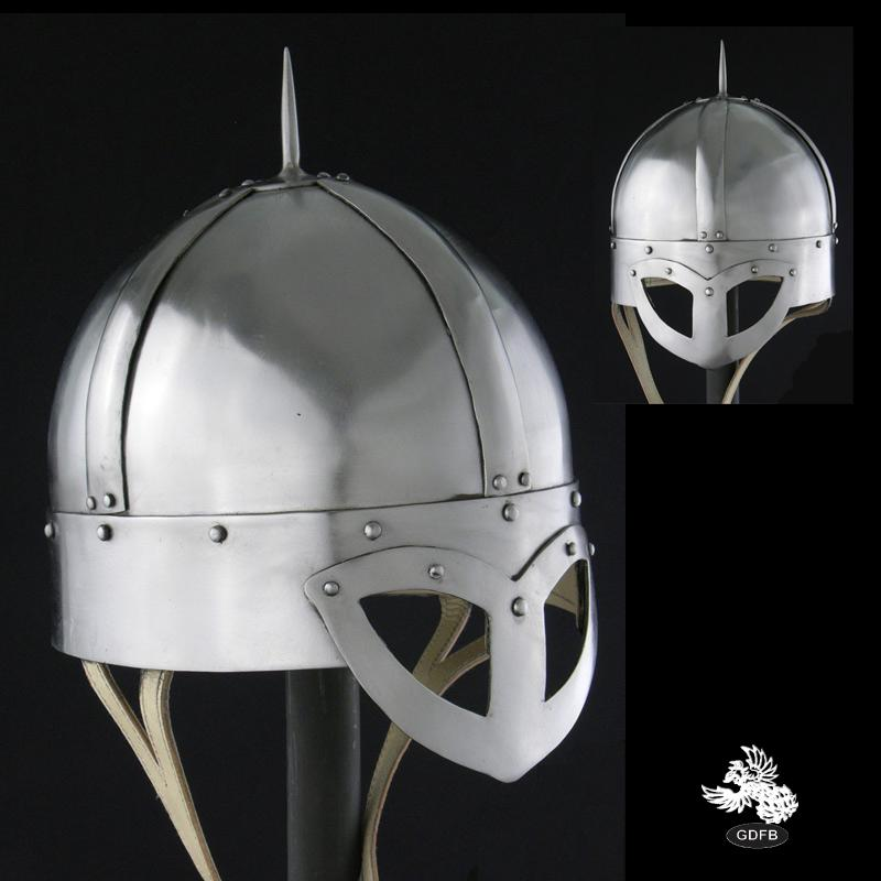 10th century gjermundbu viking helmet 14 gauge