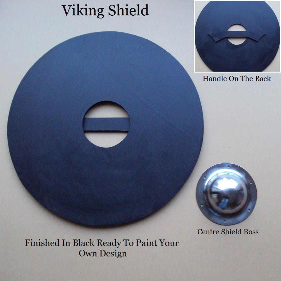 61cm viking shield ready for painting