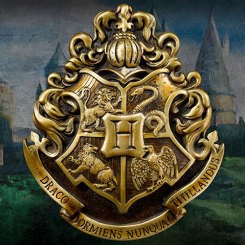 harry potter hogwarts crest wall plaque