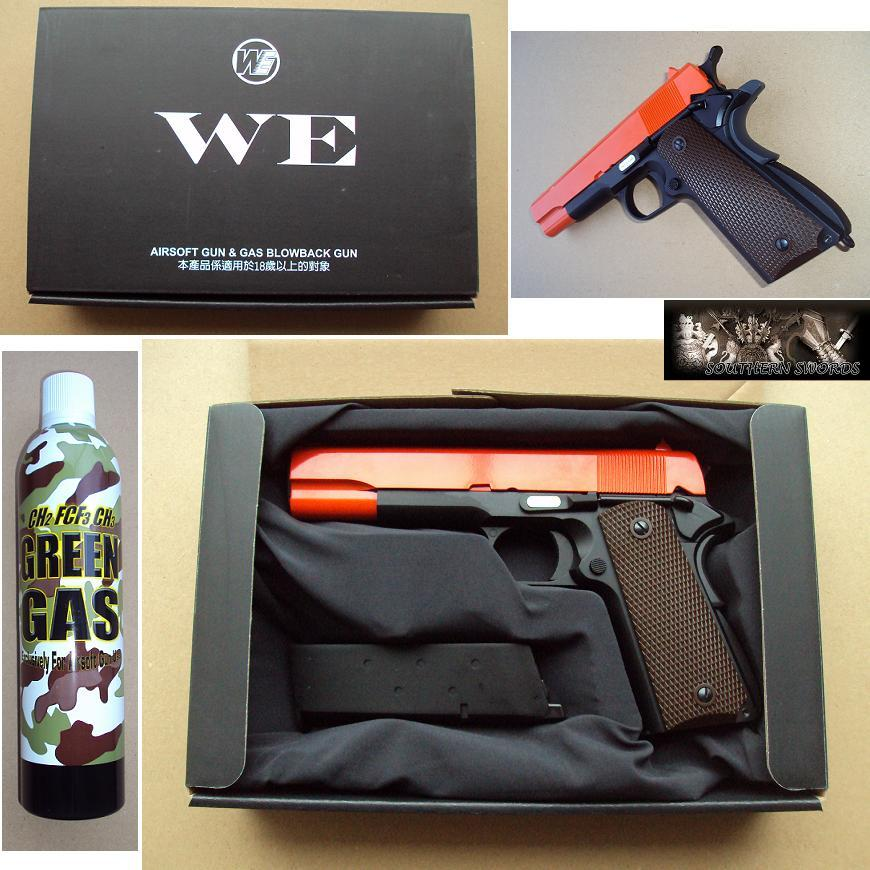 M1911 Pistol Airsoft M1911 Gas Blowback Airsoft