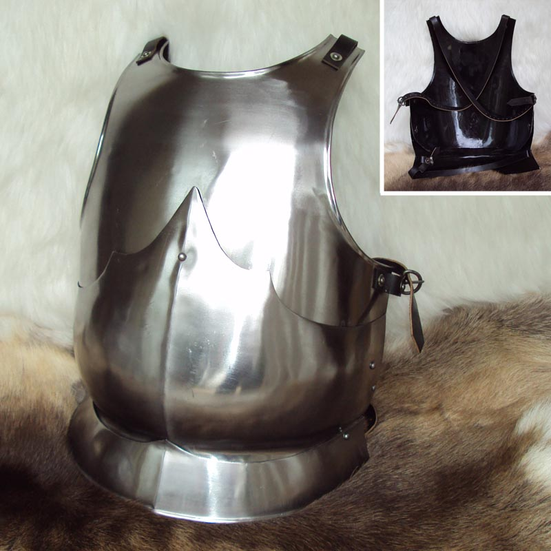 how to make a steel breastplate