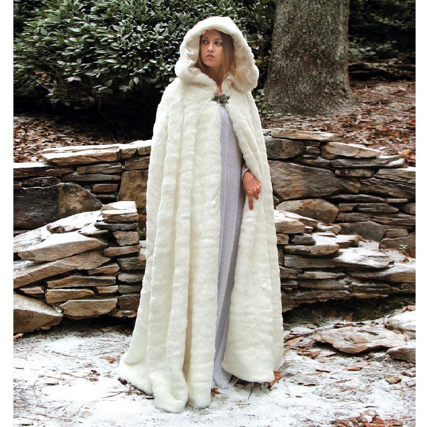 Snow Queen Characters Snow Queen Faux Fur Cape