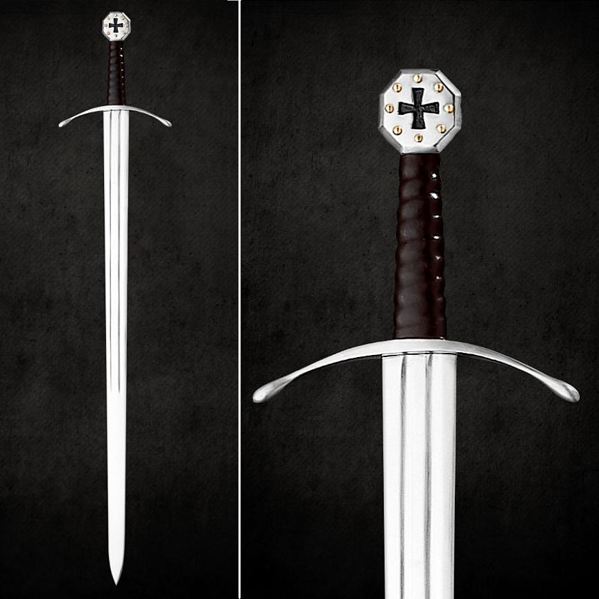 The Crusader Army One Handed English Sword