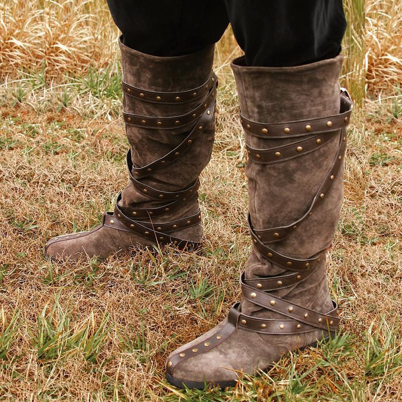 Warrior Boots Brown Suede