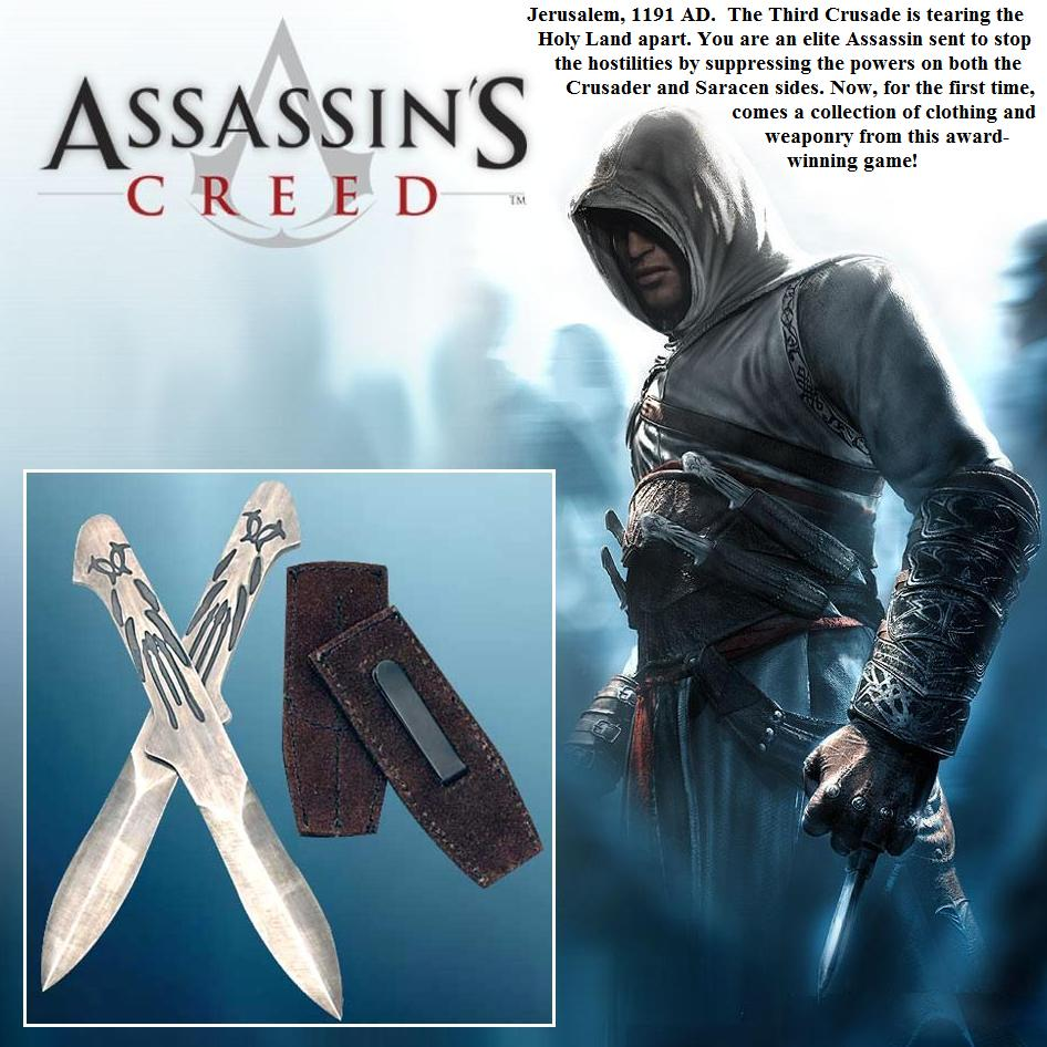 Assassins Creed Altair Official Throwing Daggers