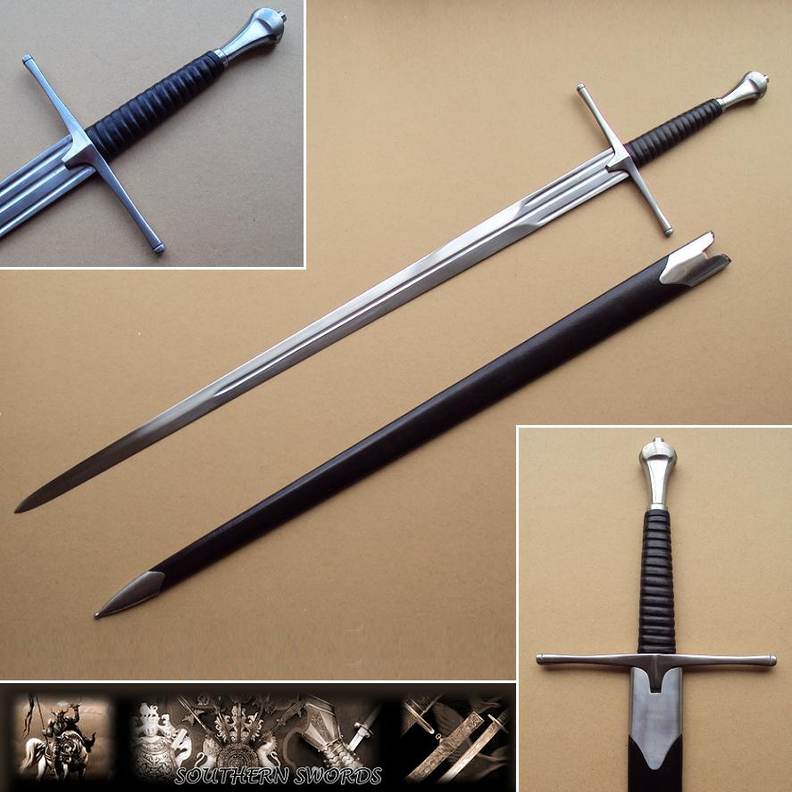 Classic Medieval Longsword Amp Scabbard
