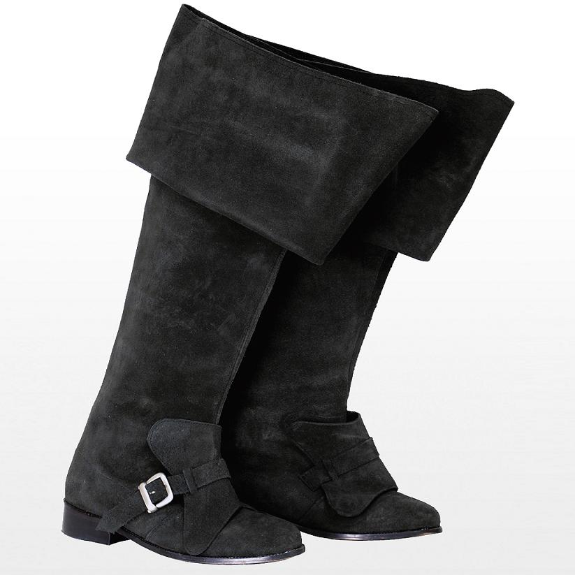 Musketeer Boots Suede