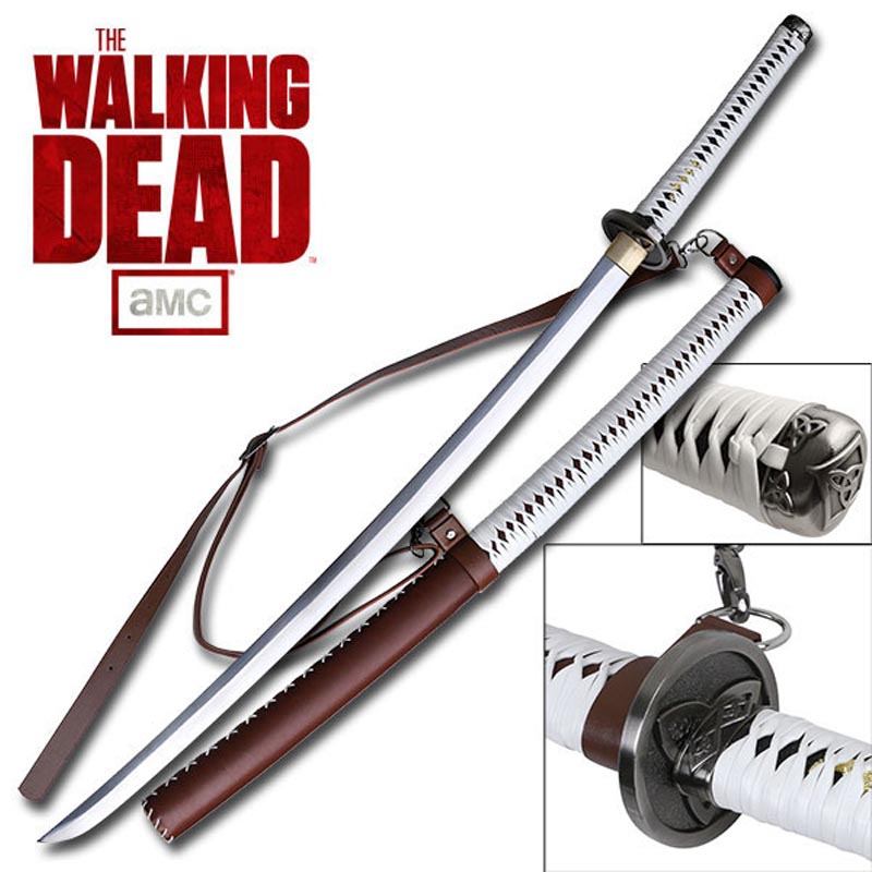 Official Amc Michonne S Walking Dead Katana