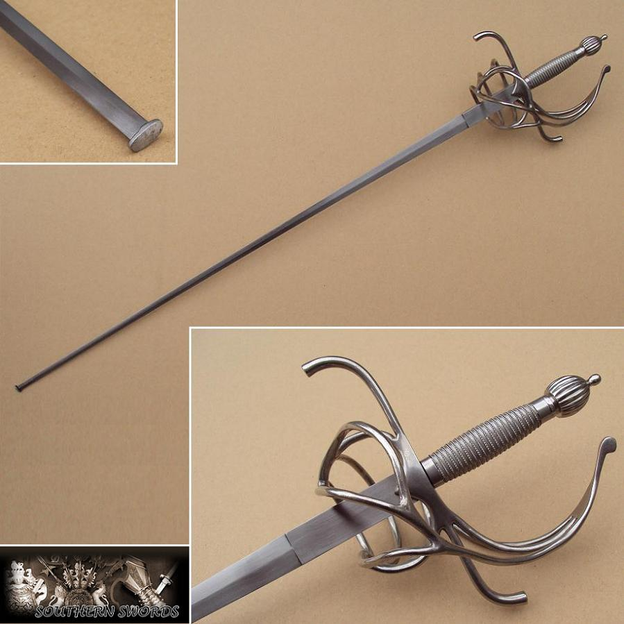 practical rapier with 37 blade