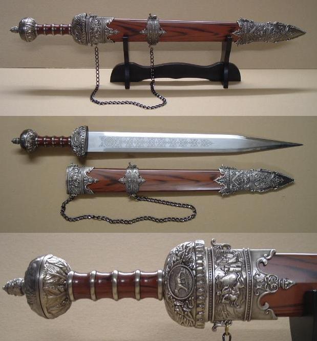 Letter Before Action >> Roman Gladius Sword & Scabbard