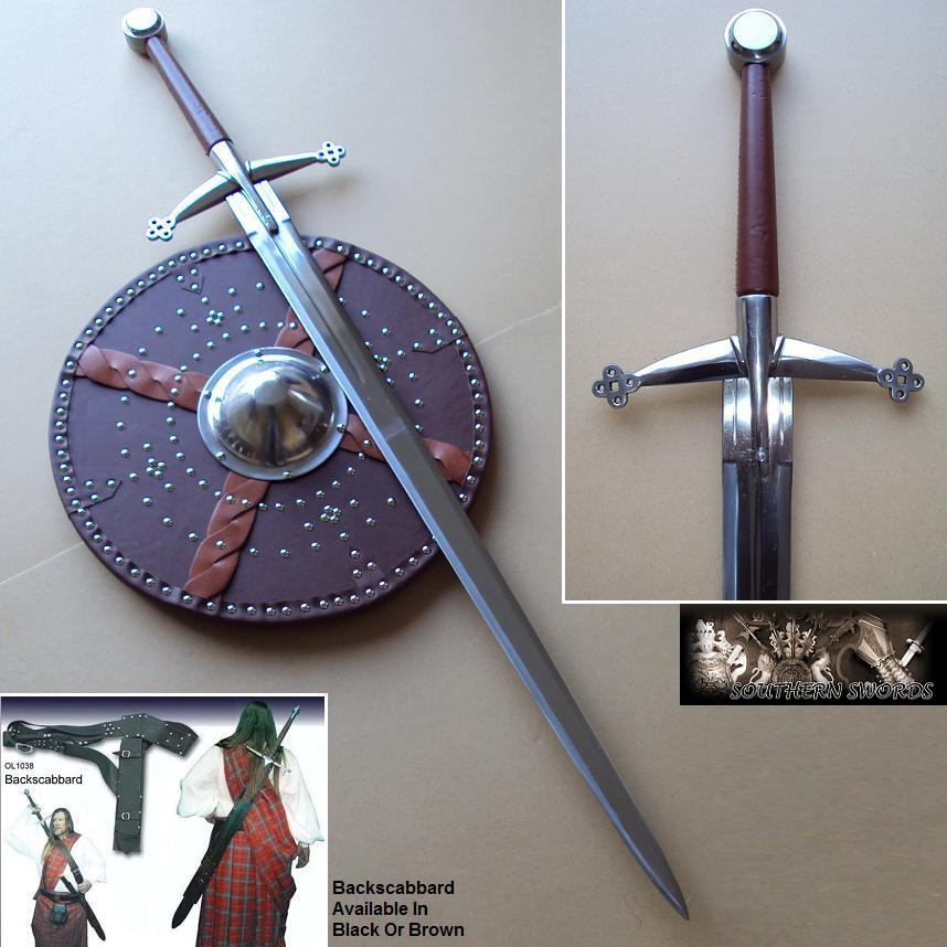 Scottish Claymore Highland 2 Handed Sword