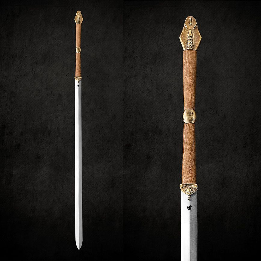 Two Handed Fantasy Glaive