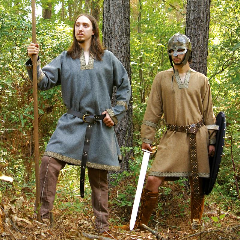 Viking Woollen Tunic Ancient Vikings Clothing