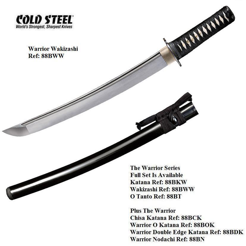 Cold Steel Warrior Wakizashi